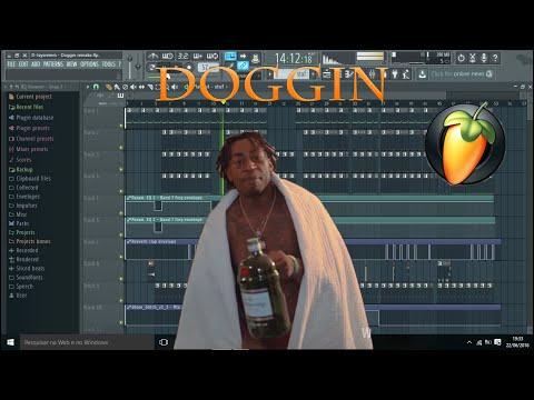 D-Jay Sremm - Doggin ft. Riff 3x, Rae Sremmurd FL Studio Remake (FLP Download)