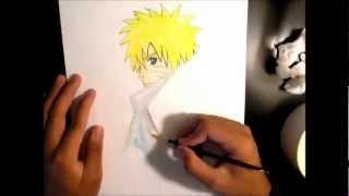 Drawing Naruto Hokage Costume