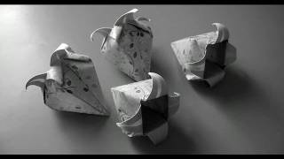 How To Fold: Origami Bell Flower | Convallaria Flower By Katrin Shumakov | Harebell