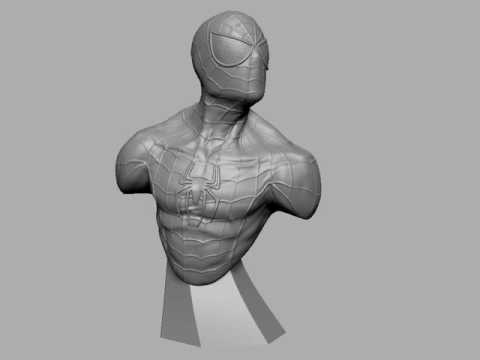 Spider-Man  Sculpt in zBrush