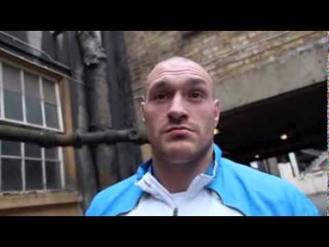 TYSON FURY DOUBTS WHETHER DAVID HAYE FIGHT WILL HAPPEN - INTERVIEW (CONTAINS STRONG LANGUAGE)