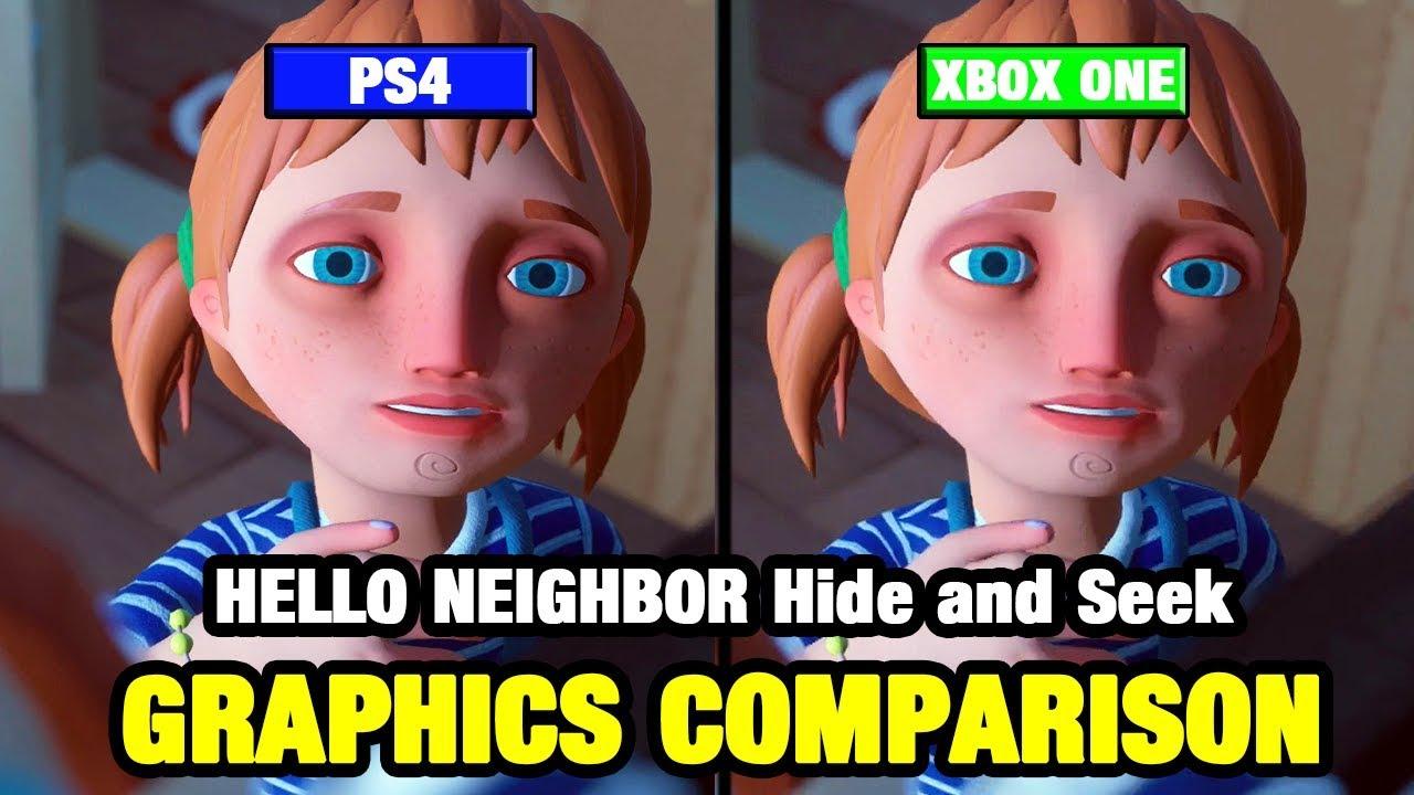 Hello Neighbor Hide And Seek Graphics Comparison Ps4 Vs