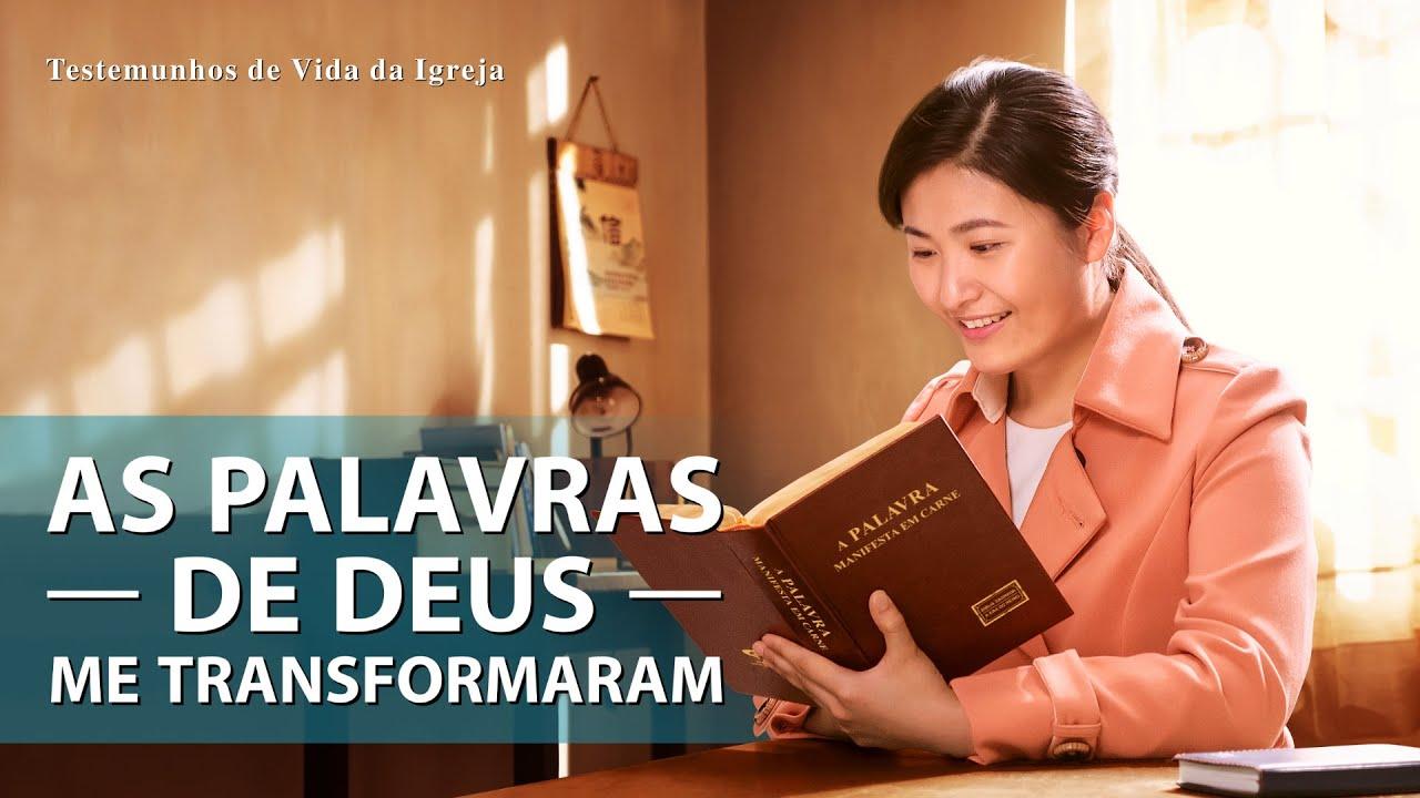 """Testemunho da Vida da Igreja """"As palavras de Deus me transformaram"""" A história real dos cristão"""