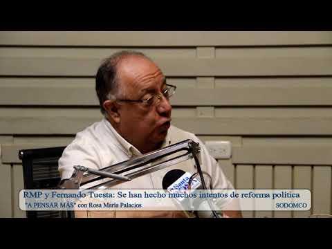 RMP y Fernando Tuesta: Se han hecho muchos intentos de reforma política