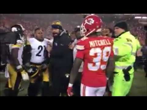 Chiefs & Steelers Got Into a Little Scuffle After the Game (Video)