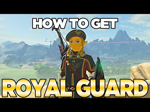 How to Get Royal Guard Armor in Breath of the Wild, The Champions Ballad | Austin John Plays