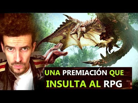 MONSTER HUNTER WORLD MEJOR RPG DEL AÑO - INSULTO A DRAGON QUEST XI O PILLARS OF ETERNITY 2