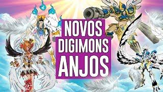 Novos Digimons anjos