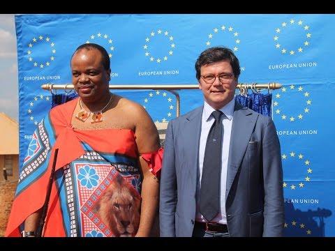 European Ambassador to Swaziland talks relations between EU and the Government of Swaziland
