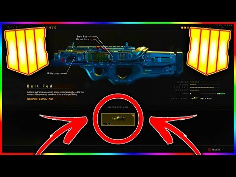 How To Equip OPERATOR MODS In BLACK OPS 4 (How To Use SUPER Attachments In COD BO4)