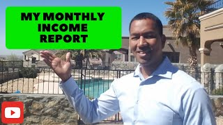 March Monthly Income Report