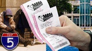 Top 5 Lottery Winners Who Went Broke