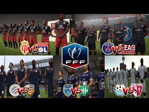 MULTIPLEX COUPE DE FRANCE | 16e FINALE | 24 JANVIER 2018 | FIFA 18 [FR]