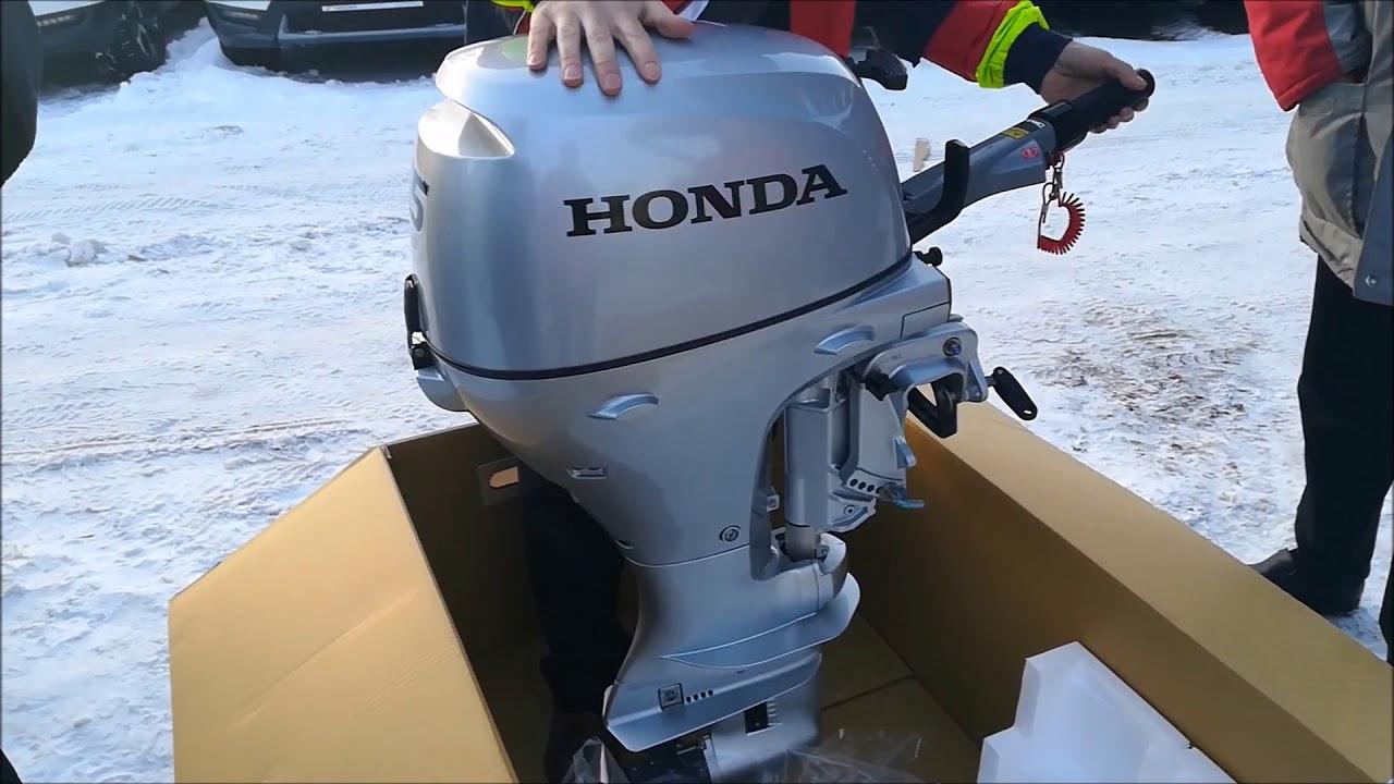 Лодочные моторы фирмы хонда