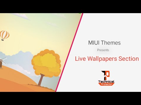 Miui 10 Live Wallpaper Enable Youtube