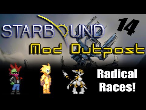 Starbound mod outpost radical race mods novakid