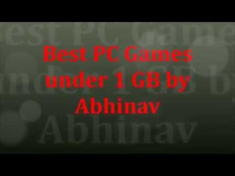 Top 20 PC Games Under 1 GB