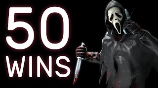 50 Win Streak on Ghostface | Dead by Daylight