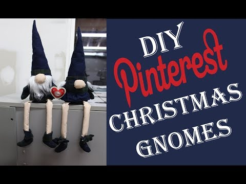 Christmas Gnomes Pinterest.Diy Pinterest Christmas Gnomes