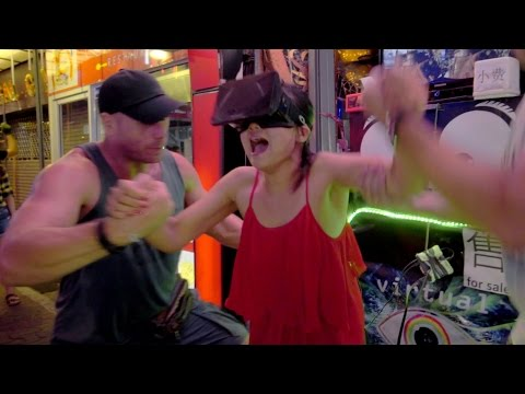 Save Funny Virtual Reality 3D Brain-Prank in Pattaya, Thailand (Part 2/2) Snapshots