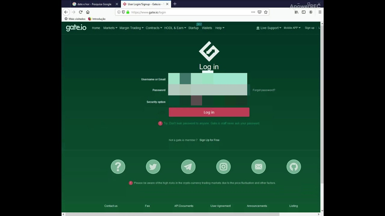 gate cryptocurrency exchange