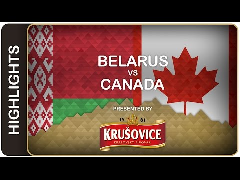 Canada remains undefeated against Belarus - Belarus-Canada HL - #IIHFWorlds 2016 - 동영상
