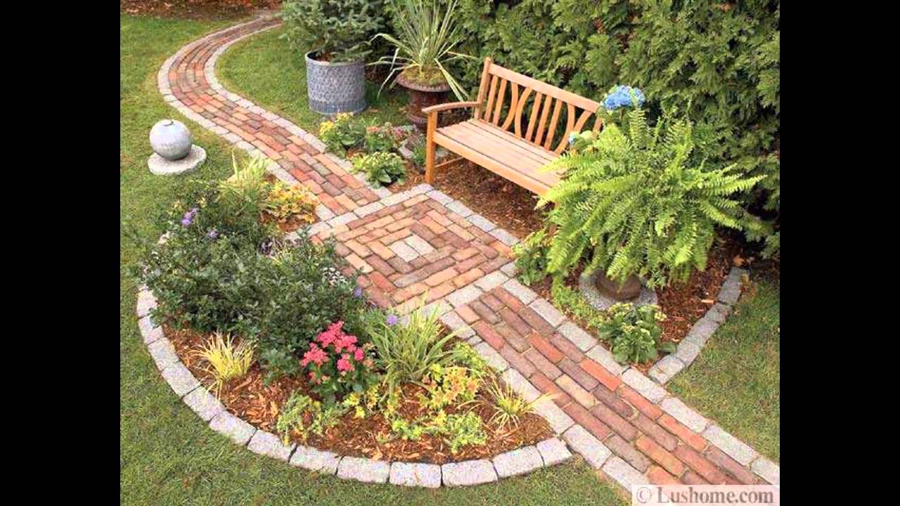 home sidewalk design and decorations youtube