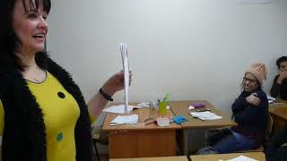 Иностранные студенты 1 курса Пятигорского медико-фармацевтического института учат русский язык.