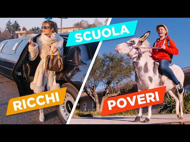 STUDENTI RICCHI VS STUDENTI POVERI - iPantellas