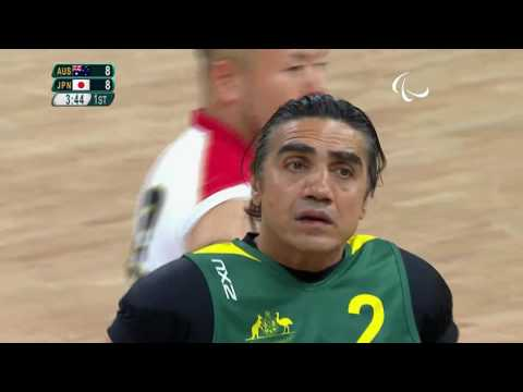 Wheelchair Rugby | Mixed - Open Semifinal Australia v Japan | Rio 2016 Paralympic Games