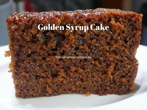 Golden Syrup Cake (One Bowl Mix Cake)