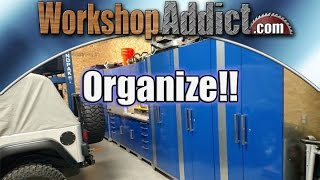 New Age Performance Plus Workshop Cabinets