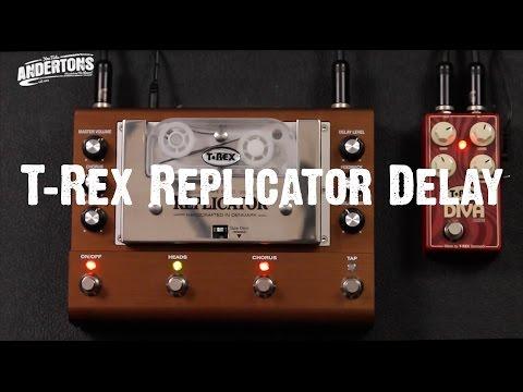 T-Rex Replicator Delay - If Carlsberg Made Delay Pedals.