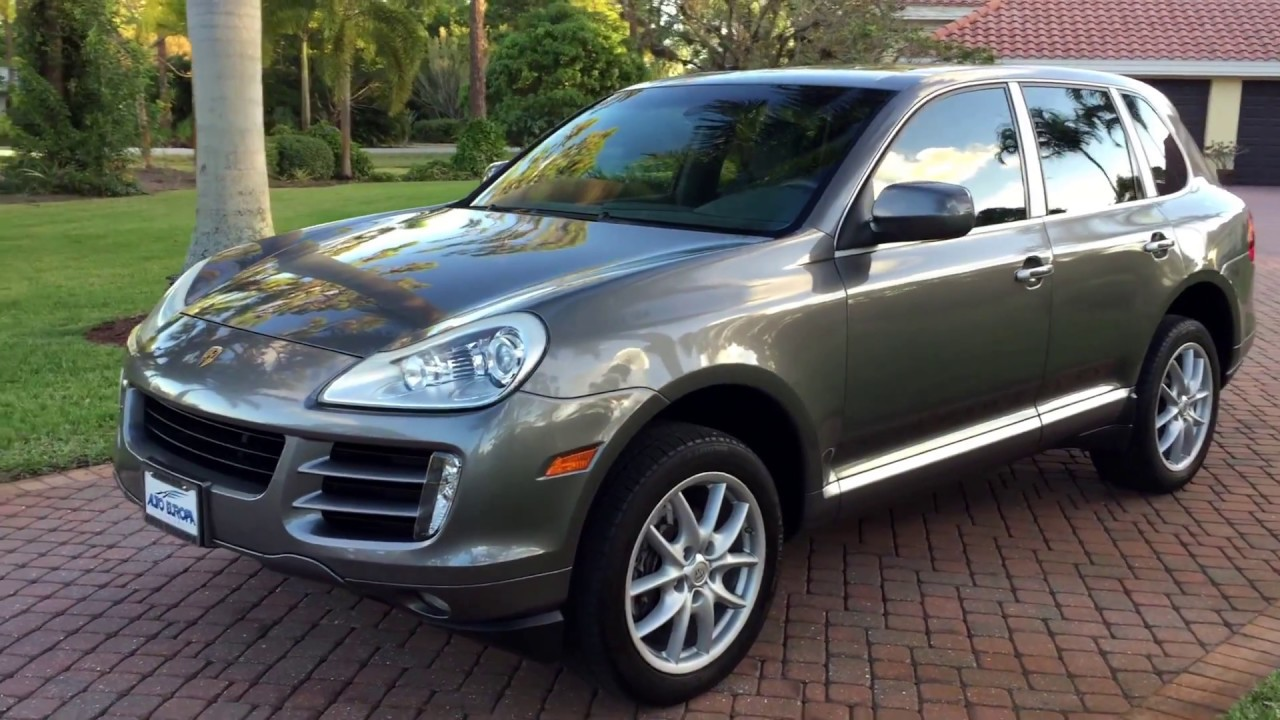 2010 porsche cayenne luxury awd suv for sale by auto europa naples youtube. Black Bedroom Furniture Sets. Home Design Ideas