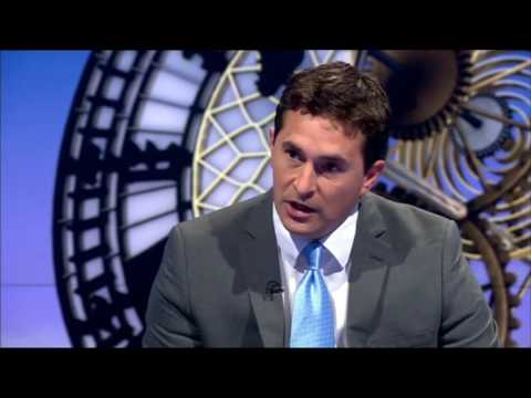 Johnny Mercer MP quizzed by Andrew Neil about why he's announced for Remain