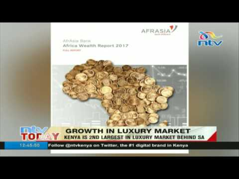 Kenya is 2nd largets in luxury market behind South Africa
