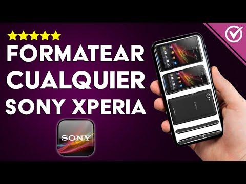 Cómo Hacer Hard Reset o Formatear Cualquier Móvil Sony Xperia Bloqueado o Sin Bloquear