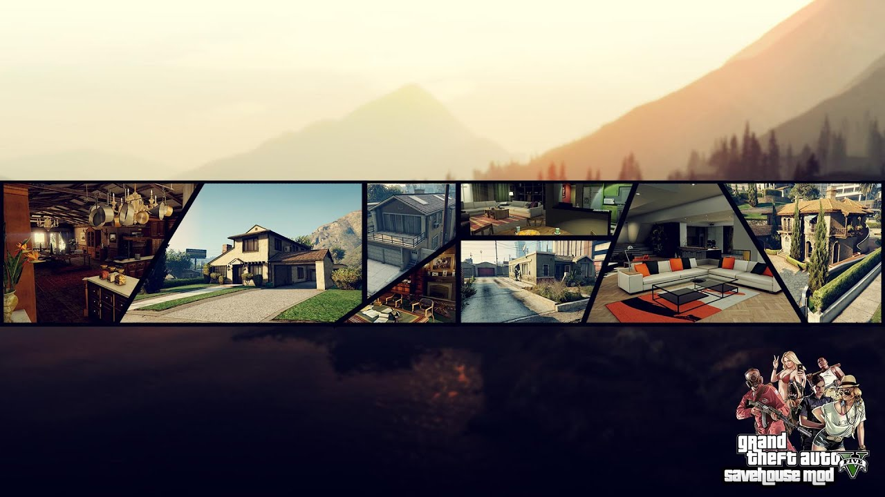 The Savehouse Mod [ LUA]