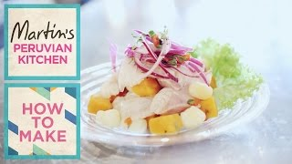 How To Make The Perfect Ceviche: Presented By Martin Morales At Ceviche, Frith Street, Soho, London.