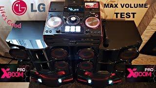 LG XBOOM PRO CM9940 - MAX VOLUME Test BASSBLAST