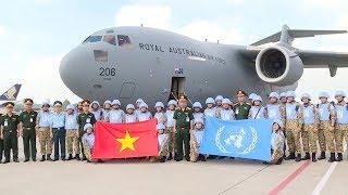 Đợt 2 Bệnh viện dã chiến Việt Nam sang Nam Sudan làm nhiệm vụ