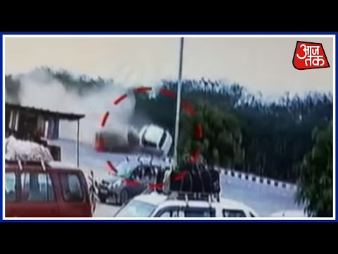 Major Accident On Rajasthan Highway Near Sirohi
