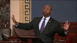 Senator Scott Speaks on Rule 19, Race, and Senator Sessions