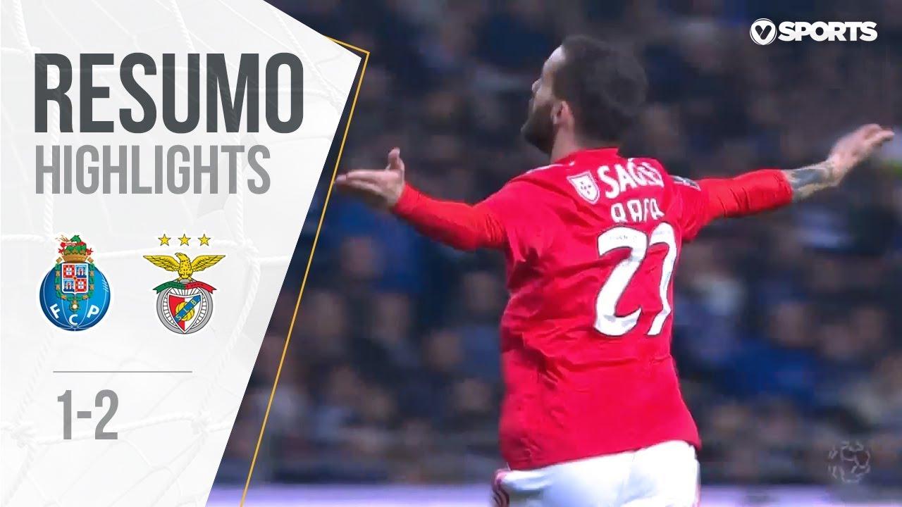 Highlights Resumo Fc Porto 1 2 Benfica Liga 18 19 24 Youtube