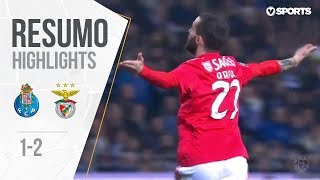 Highlights FC Porto 1-2 Benfica (Portuguese League 18/19 #24)