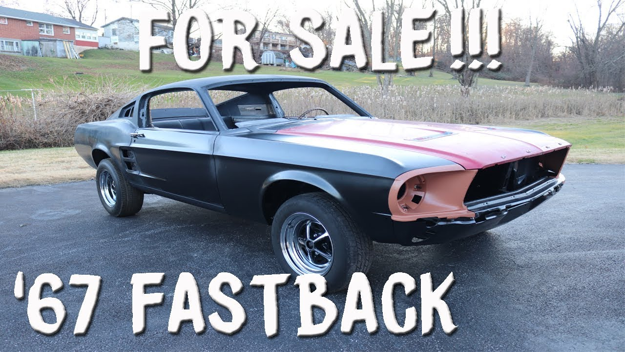 1967 mustang fastback for sale