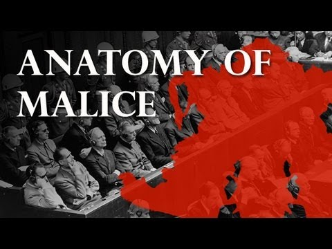 The Anatomy of Malice: Rorschach Results from Nuremberg War Criminals