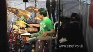 Assaf Seewi live at Paiste part 3