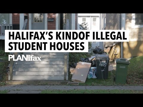 Halifax's Kindof Illegal Student Houses