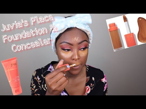 FINALLY TESTING OUT JUVIA'S PLACE I AM MAGIC| Foundation & Concealer thumbnail
